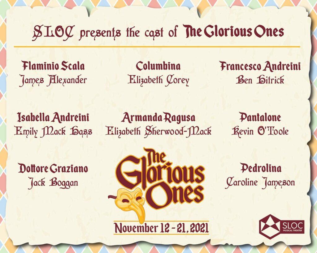 glorious ones cast list